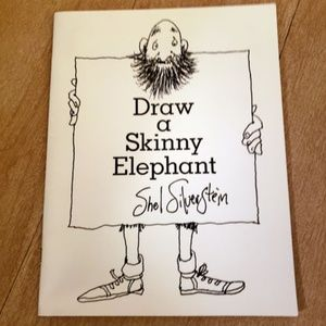 2 by Shel Silverstein Draw Elephant Coloring Book+